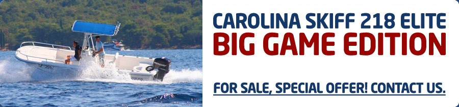 Carolina Skiff 218 Big Game Edition For Sale